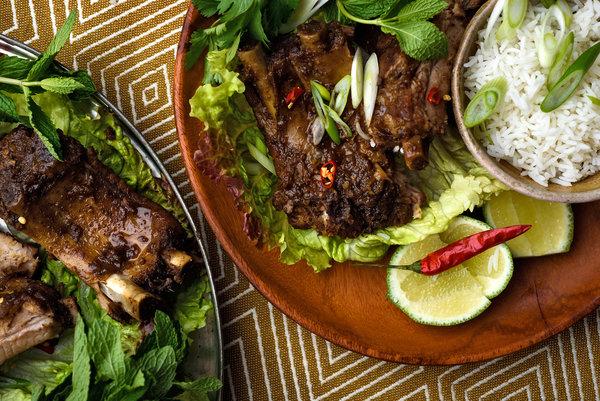 Recipe:  Tender pork ribs