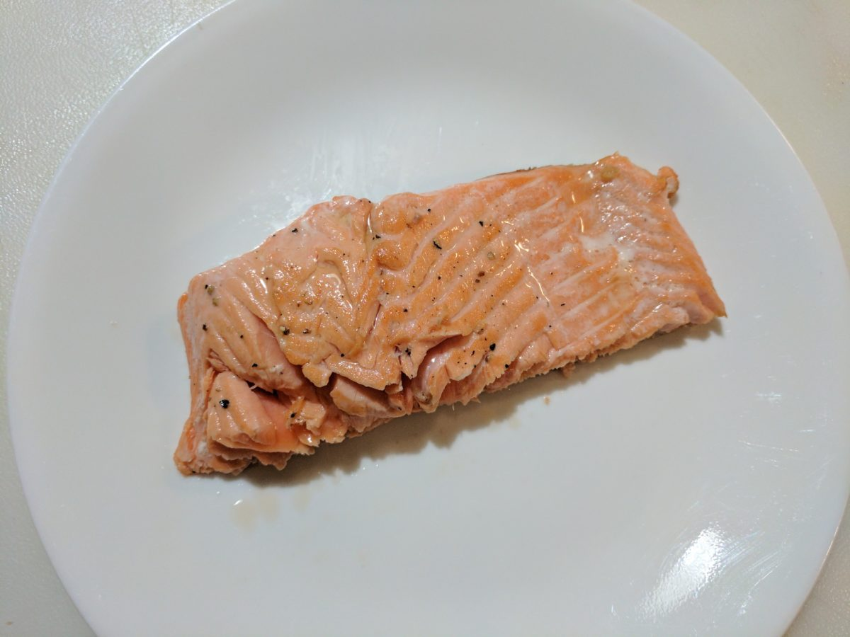 Recipe: Crispy Pan-Seared Salmon Fillet (or steelhead)