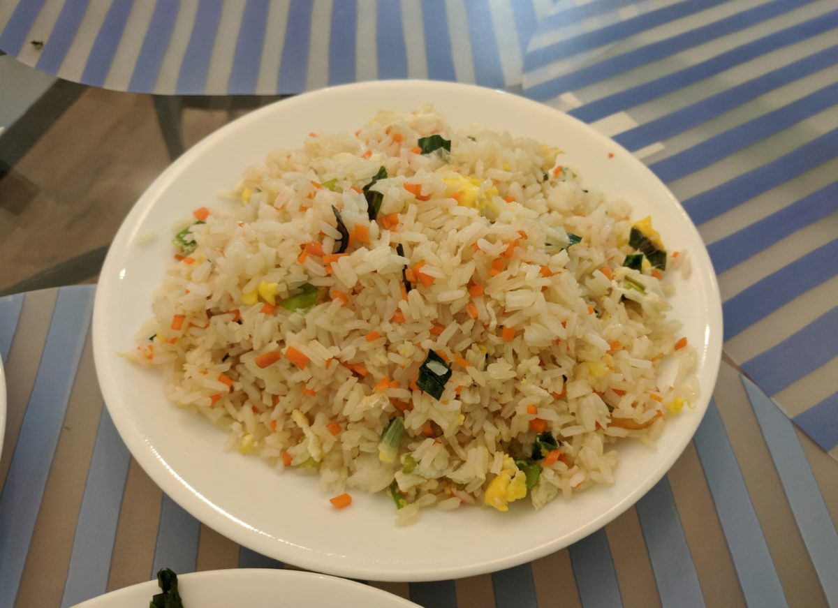 Recipe: Papa Liu's fried rice